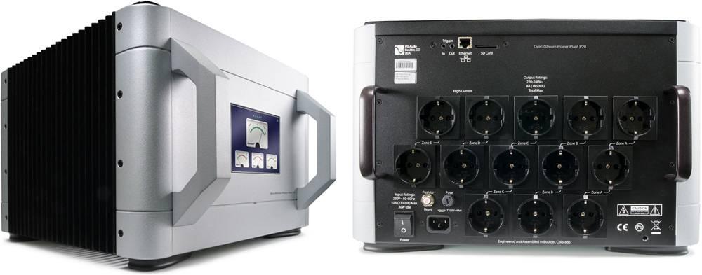 PS Audio P20 front und back